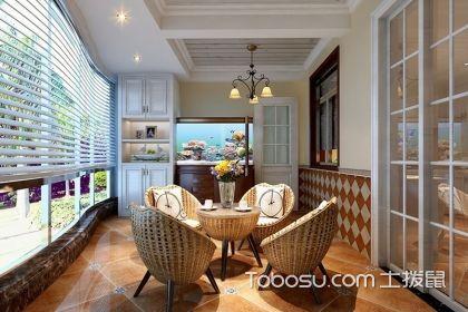 阳台石膏板吊顶效果图,让家庭阳台更好看