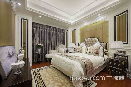 欧式卧室装修效果图,尽显奢华与温馨
