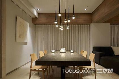 现代餐厅吊灯装修案例,你家的餐厅吊灯也可以这么设计