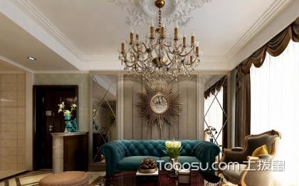 欧式客厅沙发背景墙,这样设计更精致