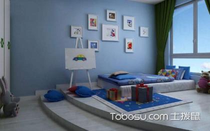 蓝色房间效果图,如何合理应用蓝色?