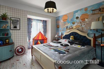 儿童房墙面怎么装修好看?儿童卧室背景墙设计介绍