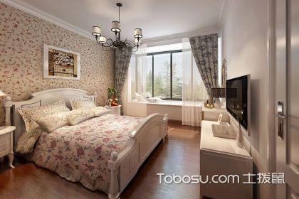 田园风格卧室软装搭配技巧说明,让家居美的冒泡