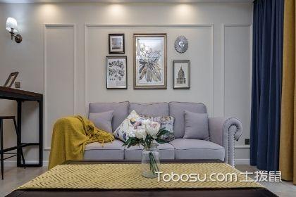 88平两室两厅装修效果图,打造简美温馨小家