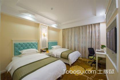 双人卧室装修案例,既温馨又实用