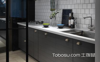 迷你厨房装修效果图,小空间大作用