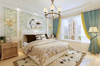 大户型美式风格卧室装修设计图,你的优雅睡眠空间