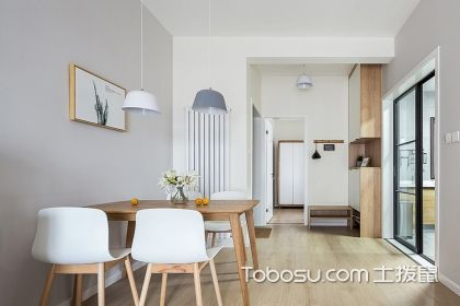 简约风格餐厅装修案例,让你家焕然一新