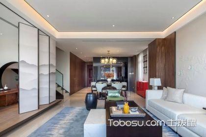 二层别墅室内设计案例,带你走进新中式的诗意空间