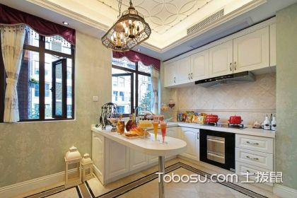小厨房橱柜颜色搭配技巧,让小厨房更美观时尚