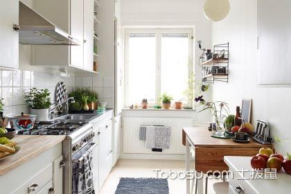 小户型开放式厨房装修实景图,打造家庭美食工厂