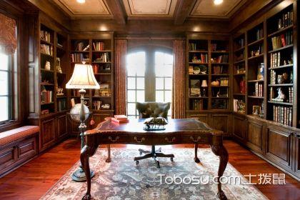 書房怎么裝修好看,書房裝修的注意事項