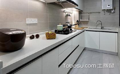 一米宽厨房装修效果图,小空间大气质