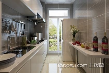 一字形厨房装修效果图,让厨房装修更时尚