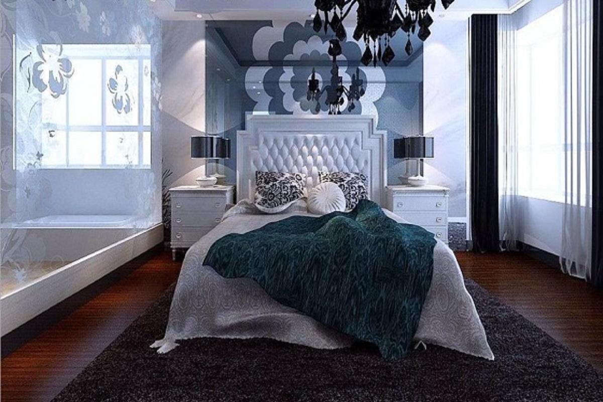 两室两厅现代简约风格装修效果图,打造舒适的居家环境