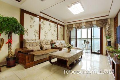 沙发背景墙u乐娱乐平台案例,为客厅空间增色不少