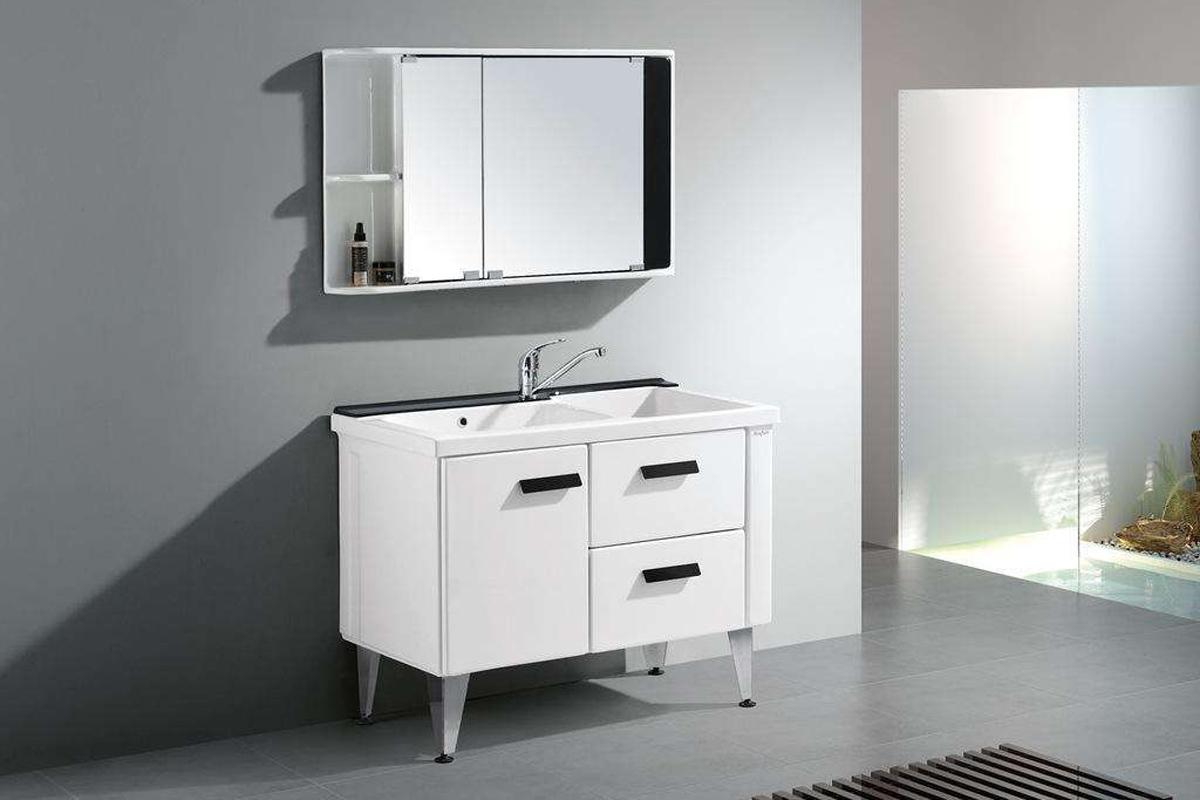 卫生间脸盆柜图片,卫生间脸盆柜如何选择