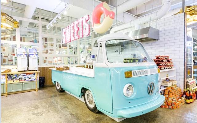 甜品店装修风格图片,店铺装修案例