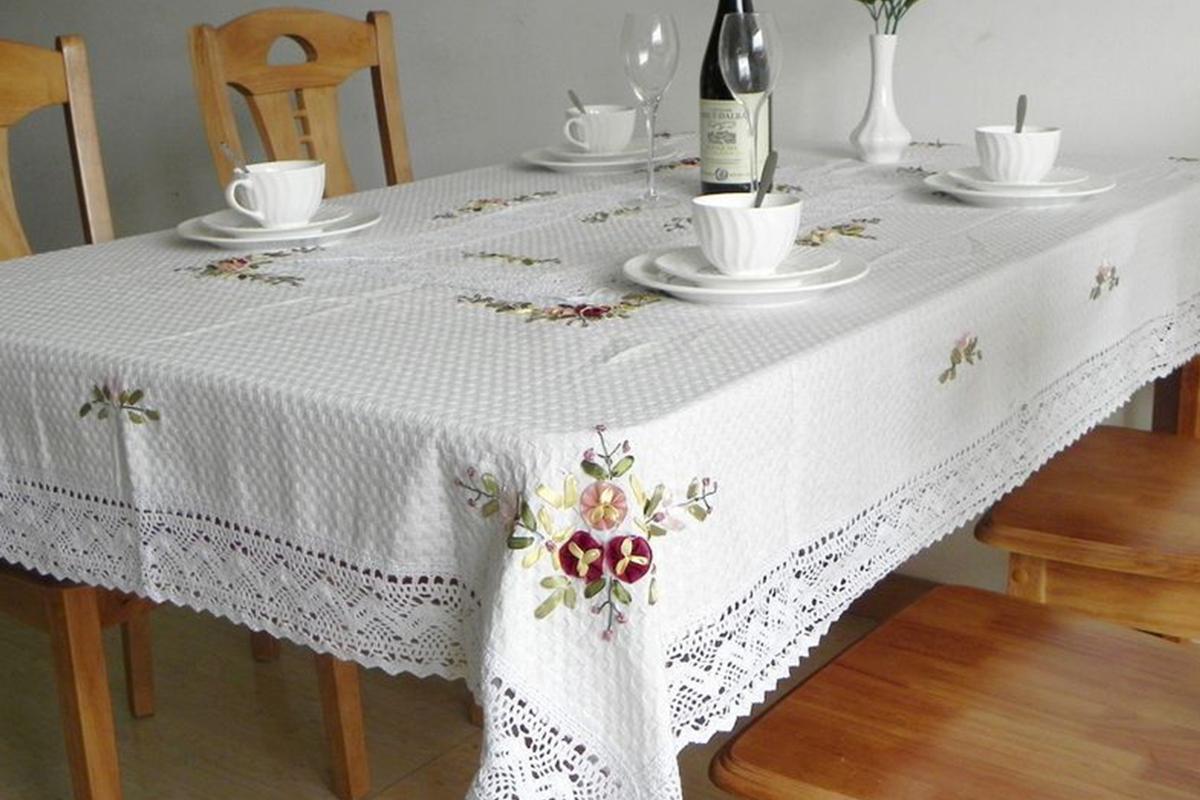 餐厅桌布怎么???原来选购桌布要了解这些