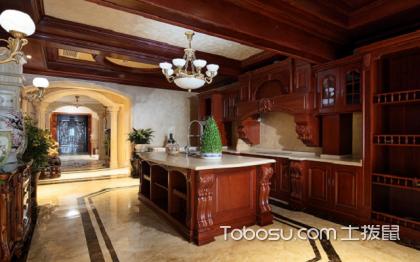 古典欧式厨房装修效果图,实用又好看