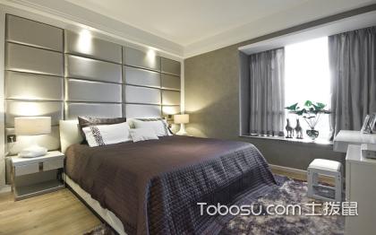 现代简约风格卧室装修图片,舒适大气的卧室