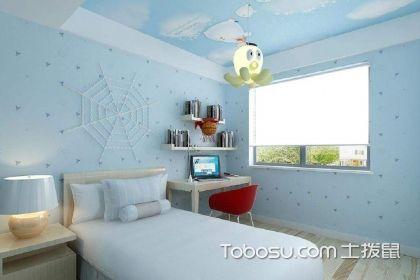 藍色臥室裝修效果圖,帶你體驗面朝大海般的舒適與愜意