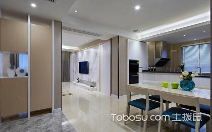 130平米三室两厅装修样板间,最流行的家装风