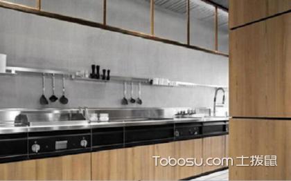 一字型厨房装修图片,小空间大气质