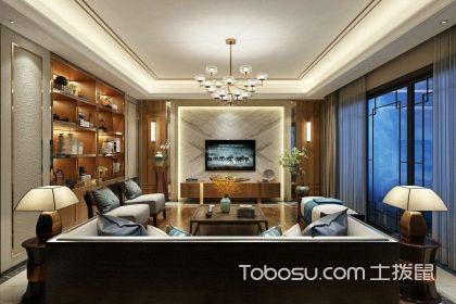 纯中式客厅装修效果图,纯中式客厅装修设计技巧