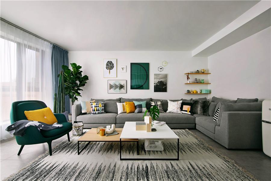 124平米三居室u乐娱乐平台,附详细购物清单