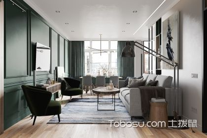 小户型公寓装修案例,北欧风格带您走进沉稳家居