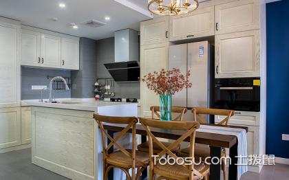 开放式厨房装修图片,高颜值厨房