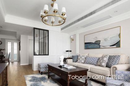 145平美式风格案例,打造出简洁实用的品位之家