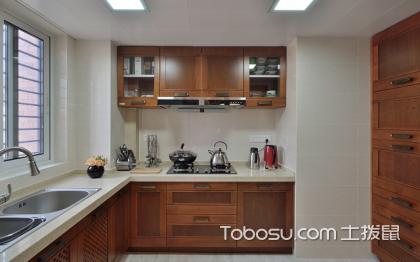正方形厨房装修效果图,合理布局很重要
