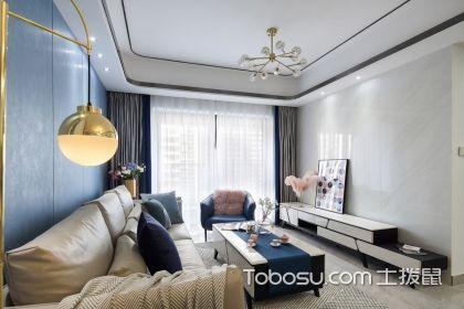 深圳120平现代简约风格案例,让您感受现代轻奢风的格调