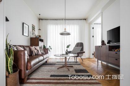 89平米北欧风格装修案例,简洁明朗的设计最能打动人心
