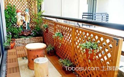 阳台装修效果图,让家中多一个花园