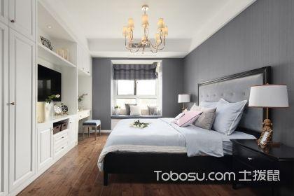 窄长形卧室装修效果图欣赏,这样的卧室更美了