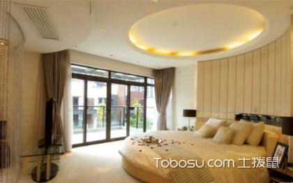 圆形卧室装修效果图,圆形卧室如何装修好看呢?