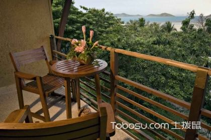 美式休闲阳台装修效果图,在家也能感受的异国情怀