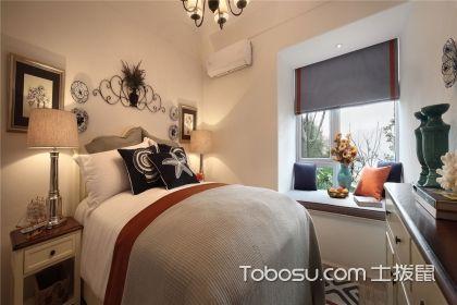 臥室外飄窗裝修效果圖,每一種設計都可以用來當壁紙