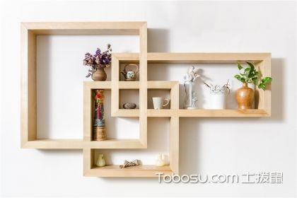 居家就要买买买,厨房简朴单纯木制置物架打造出完善厨房