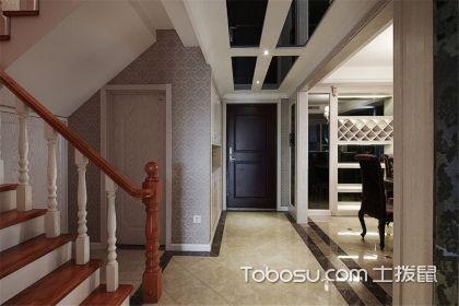 跃层楼梯装修效果图案例分享,第四个小编最喜欢