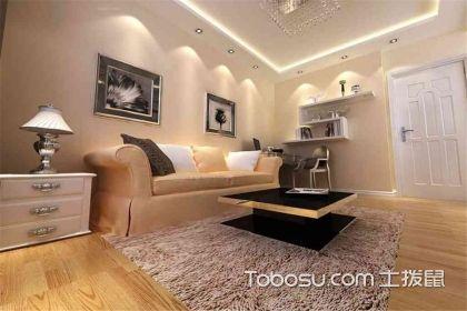 现代简约型客厅装修案例,简单的生活一样多姿多彩
