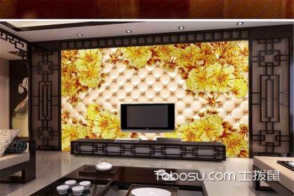 彩雕艺术配景墙设计案例,带你感伤熏染彩雕之美