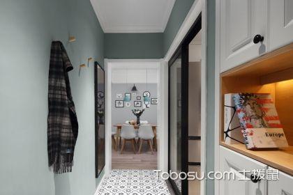 门厅过道玄关装修效果图,爱家从进门开始