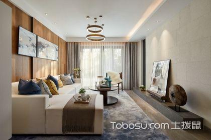 96平米兩室兩廳裝修案例,邀您欣賞沉穩含蓄的家居氛圍