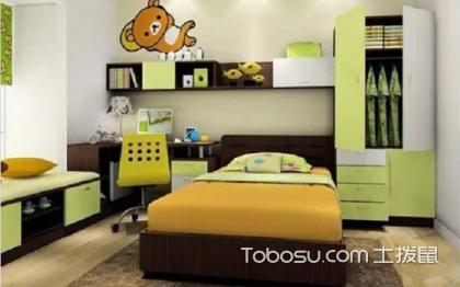 儿童书房装修效果图,一个舒适的学习空间