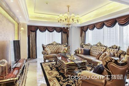 300平米欧式新古典装修案例,打造品质轻奢家