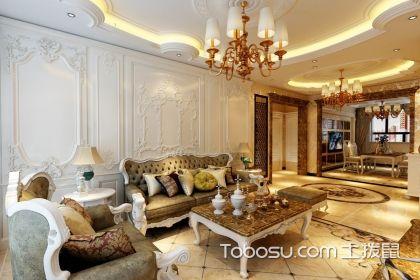 欧式客厅装修效果,打造时尚优雅的家